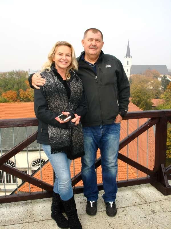 20.10.2017 Na hrade - Hajo a Jarka