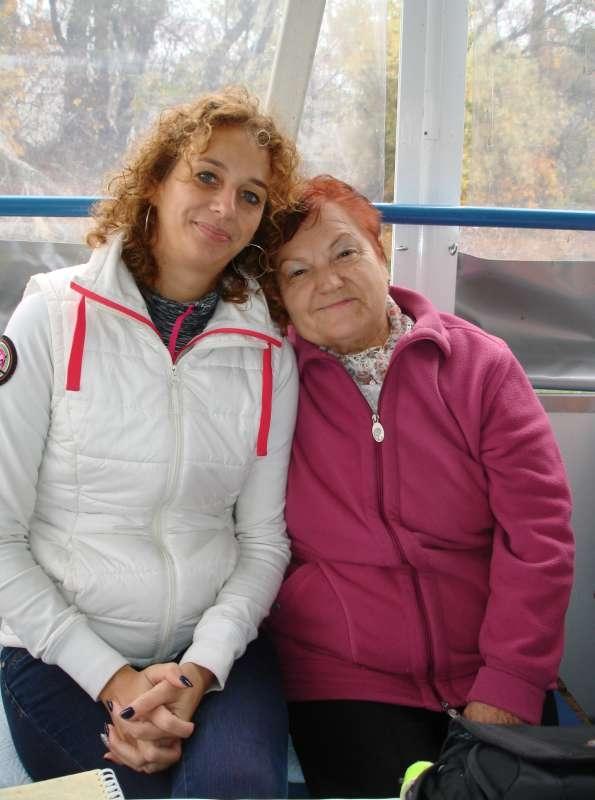 20.10.2017 Na lodi - Anka Matisová a Valika Némethová