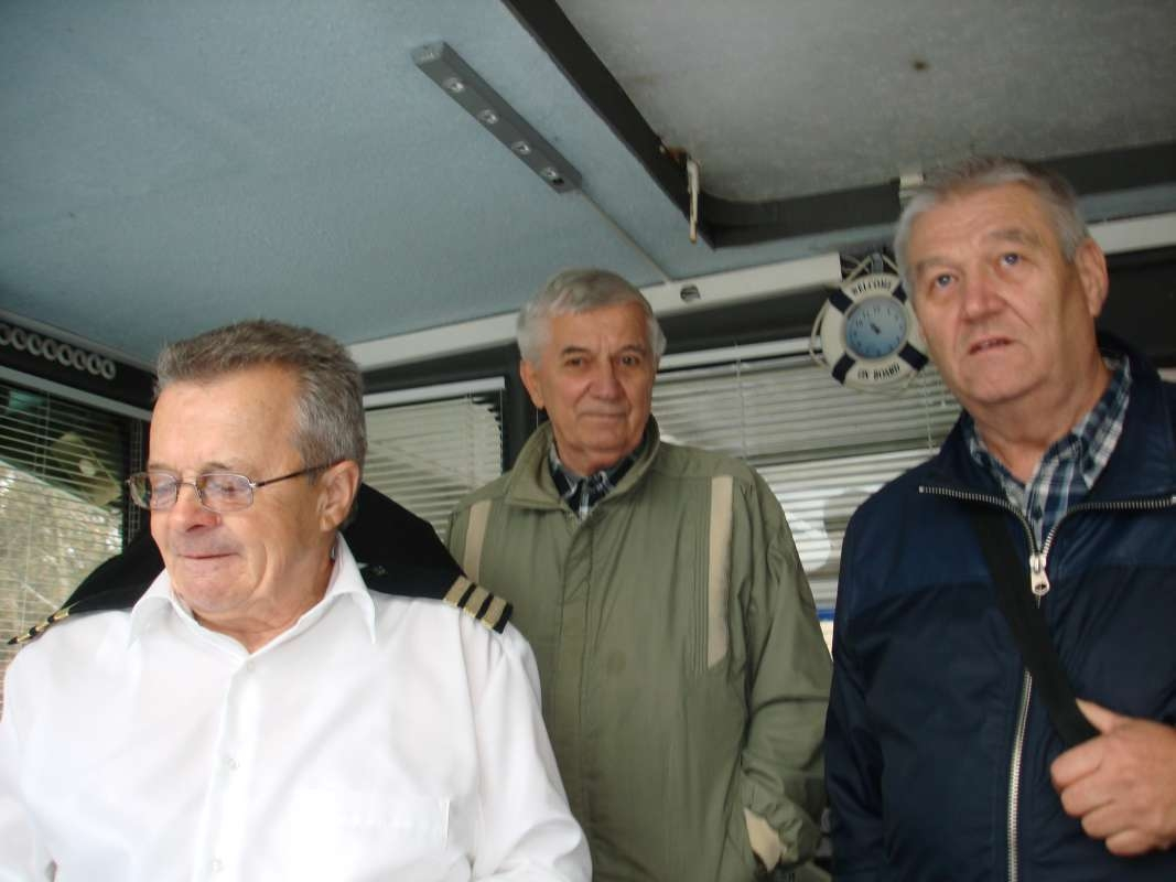 20.10.2017 Na lodi - Kapitán, Jano Istojko a Milan Dlabaj