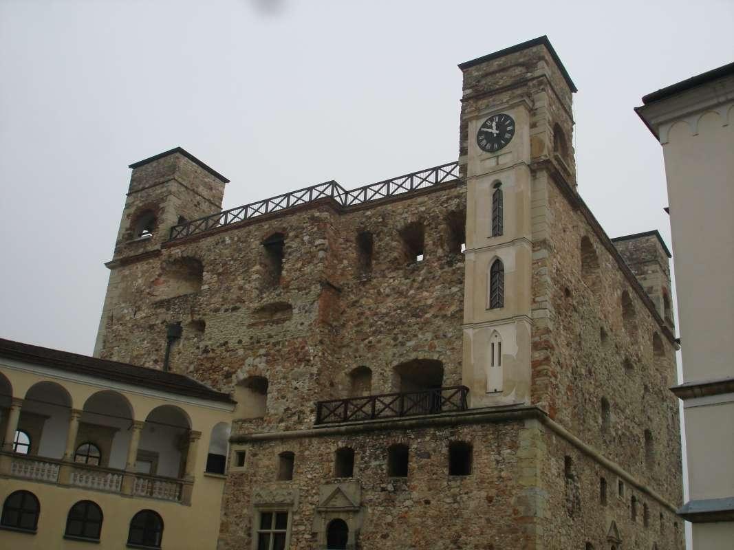 20.10.2017 Sárospatak - hradná veža 1
