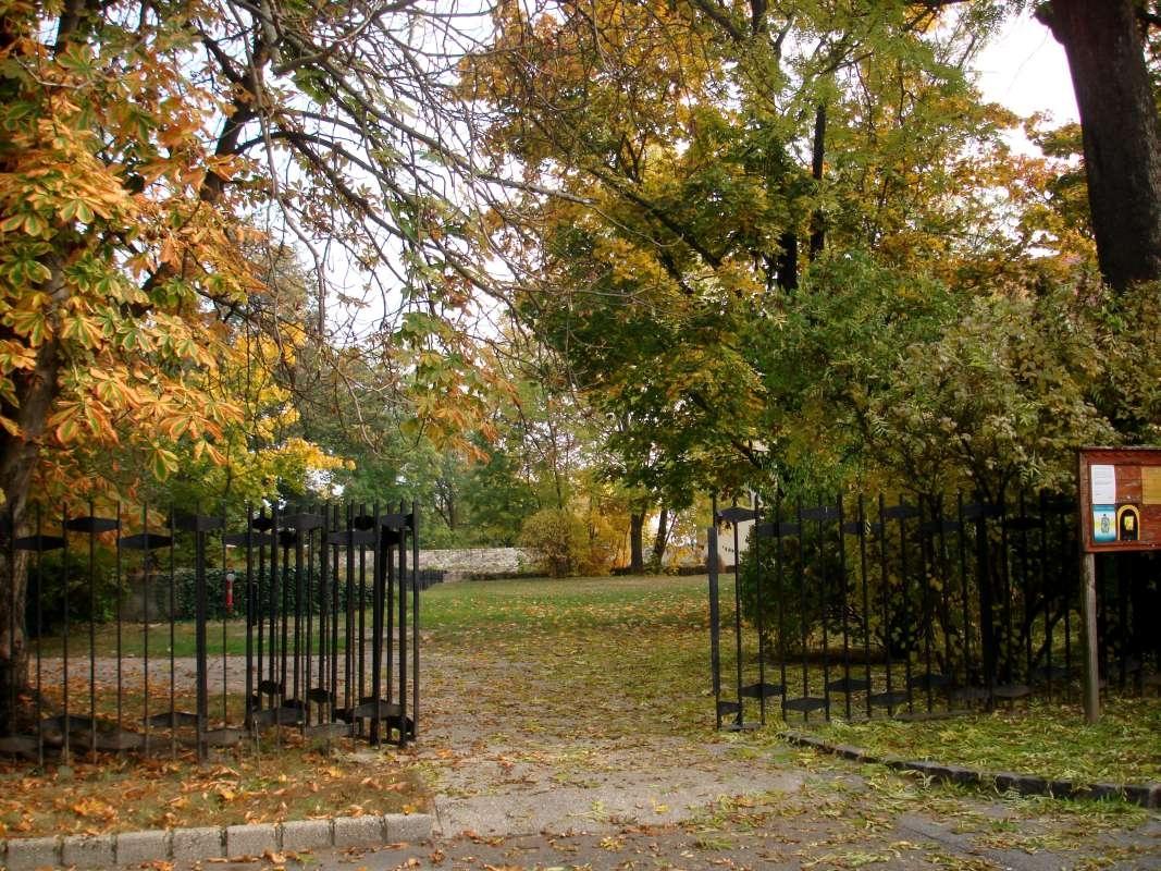 20.10.2017 Sárospatak - hradná záhrada