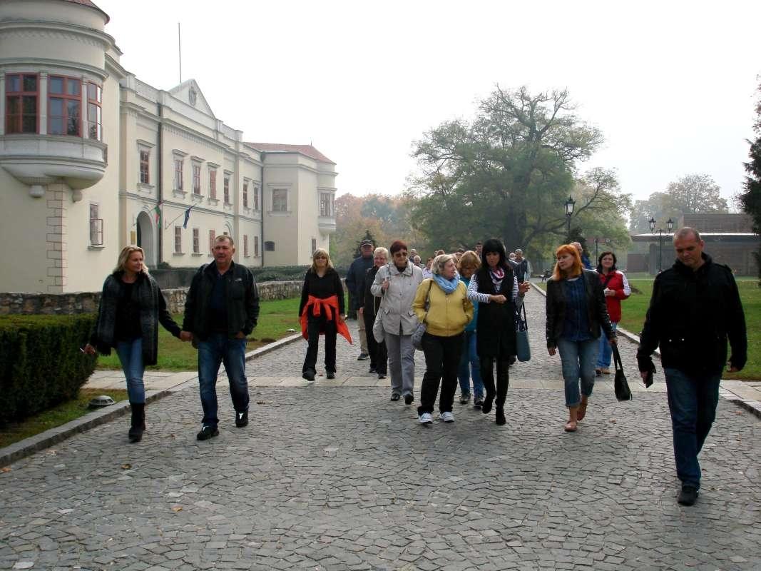 20.10.2017 Sárospatak - odchod z hradu