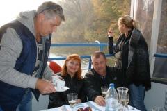 20.10.2017 Na lodi - Ivan, Božka, Hajo a Jarka