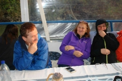 20.10.2017 Na lodi - Rudo Mikluš s manželkou a Milka Herpáková